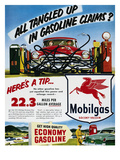 Mobil Advertisement  1953