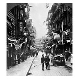 New York : Chinatown  1909