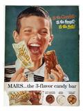 Mars Bar Ad  1957