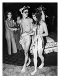 Japan: Nude Wedding  1970