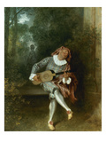 Watteau: Guitar Player