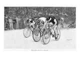 Bicycle Race  1896