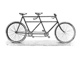 Tandem Bicycle  c1900