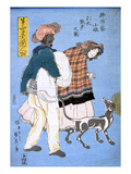 Japan: Woman with Dog
