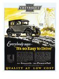 Chevrolet Ad  1926