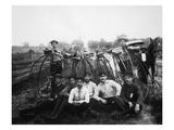 Bicyle Riders  c1880s