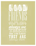 Good Friends Are Like Stars