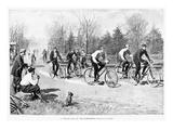 Bicycle Race  1896