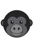 Gorille Reproduction d'art