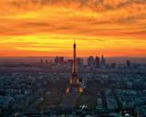 Sunset from Montparnasse