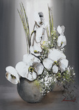 Univers d'Orchidees Blanches II