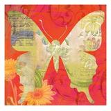 Red Pop Butterfly