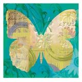 Blue Pop Butterfly