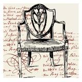 Script Arm Chair