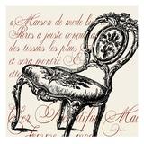 Script Chair Single
