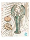 Aqua Lobster Reproduction d'art par Chad Barrett