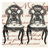 Script Chair Duo