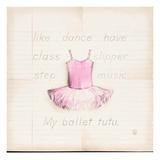 Ballet Tutu Reproduction d'art par Lauren Hamilton