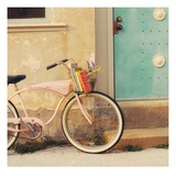 Vintage Pink Bike