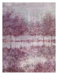 Shimmering Plum Landscape 1