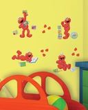 Sesame Street - Elmo-Centric Peel & Stick Wall Decals