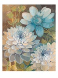 Pretty Blue Dahlias 2