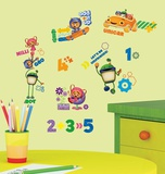 Team Umizoomi Peel & Stick Wall Decals