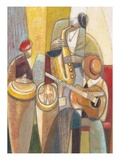 Cultural Trio 1 Reproduction d'art par Norman Wyatt Jr.
