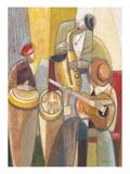 Cultural Trio 1 Reproduction d'art par Norman Wyatt Jr.