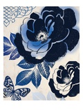 Moody Indigo Reproduction d'art par Violet Leclaire