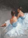 Dancers at Rest Reproduction d'art par Patrick Mcgannon
