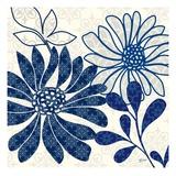 Blue Floralesque 1
