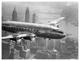 Aircraft Flying over City  1946