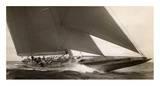 Voilier Classe J, 1934 Reproduction d'art par Edwin Levick