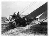 Yacht in Race  1937