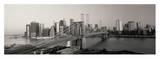 Brooklyn Bridge and Manhattan at Sunrise