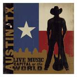 Austin  Live Music Capital of the World Square