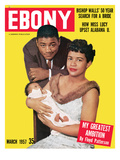 Ebony March 1957