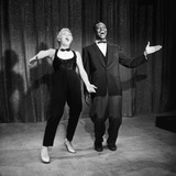 "Nat King Cole and His Guest Star Betty Hutton Belt Out a Tune  ""Nat King Cole"" Show  1957"