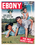 Ebony January 1957
