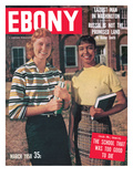 Ebony March 1958