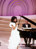 Marilyn Mccoo Performs at the Songwriters&#39; Hall of Fame  May 11  1989