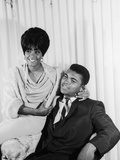 Muhammad Ali  with Wife Sonji Roi  August 1964