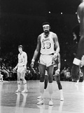 Basketball Star Wilt Chamberlain  Member of the Los Angeles Lakers  1973