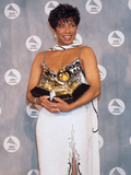 Natalie Cole Cradles Her Statues  34th Annual Grammy Awards  February 25  1992