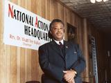 Rev Al Sharpton  National Action Headquarters  2001