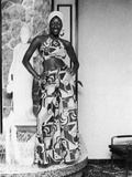 Natalie Cole Shows Off Her Stylish Outfit  1973 Photo