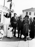 Muhammad Ali and Family at Ali's Semi-Open House  June of 1979