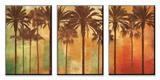Palmier Paradise Ensemble d'art monté par John Seba