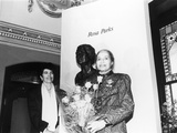 Rosa Parks  Sculpture at its Unveiling  Smithsonian Institute&#39;s National Portrait Gallery  1991